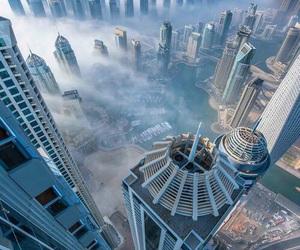 city, Dubai, and sky image