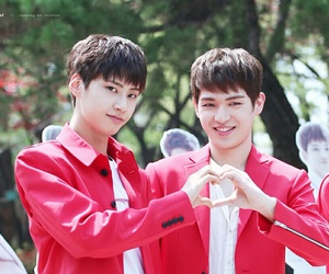 wei, up10tion, and gyujin image