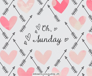 arrow, Sunday, and heart image