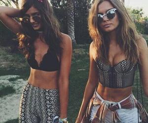 coachella, model, and friends image