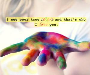 love, colors, and true colors image
