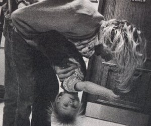 kurt cobain, nirvana, and frances bean cobain image
