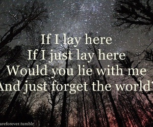 snow patrol, chasing cars, and love image