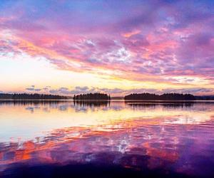 april, beautiful, and evening image