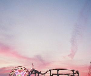 sky, pink, and fun image