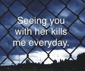 broken heart, quote, and sad image