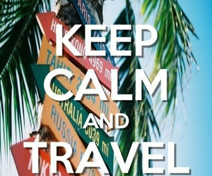 travel and ​keepcalm image