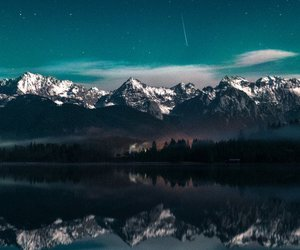 lake, landscape, and mountains image