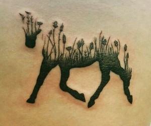 tattoo and horse image