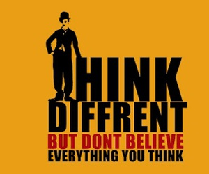 quote, think, and believe image