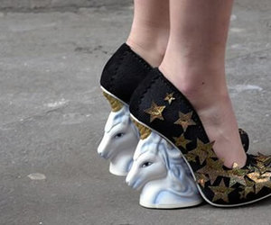 unicorn, Dream, and shoes image