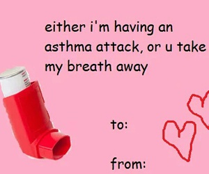 breath, valentines day, and asthma image