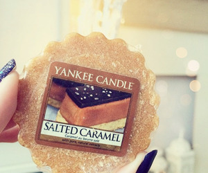 candle and salted caramel image