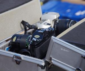 camera, photography, and fleamarket image