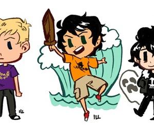 heroes, percy jackson, and nico di angelo image