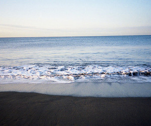 sea, beach, and ocean image