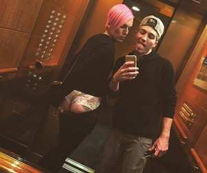 couple, jeffree star, and nathan schwandt image