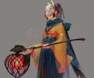 anime and mask image
