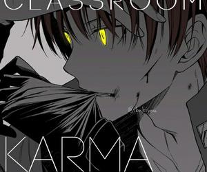 karma, assassination classroom, and anime image