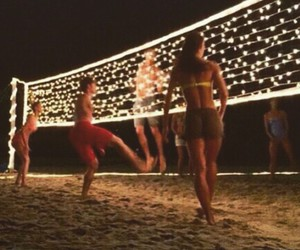 beach, holiday, and sport image