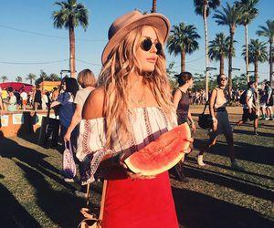 coachella, girl, and summer image