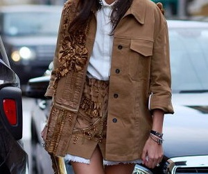 brown, chanel, and chic image