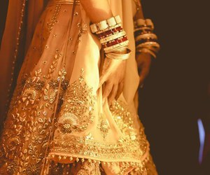 india, wedding, and beautiful image