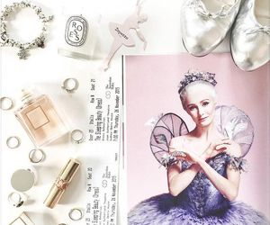 ballerina, ballet, and jewelry image