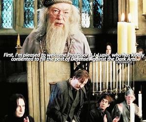 albus dumbledore, hogwarts, and prisoner of azkaban image