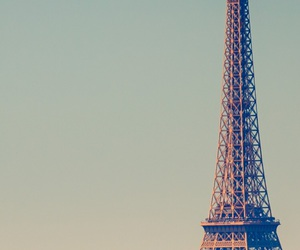 eiffel, happy, and paris image