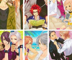 asahina tsubaki, asahina louis, and asahina natsume image
