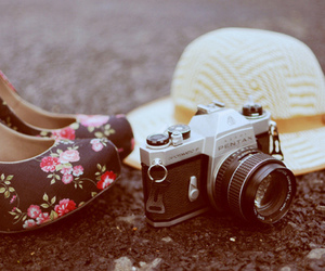 photography, camera, and shoes image