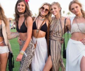 coachella, fashion, and girls image