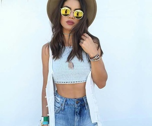 fashion, summer, and coachella image