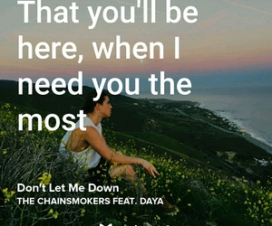 down, let, and letra image