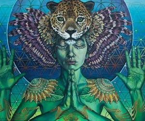 peace, art, and spiritual image