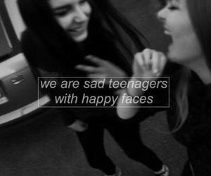 sad, teenager, and grunge image