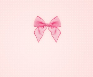 background, bow, and pattern image