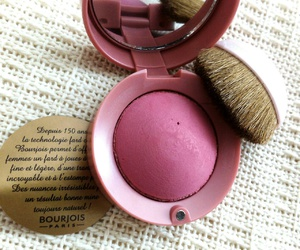 blush, bourjois, and makeup image