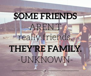 family, sayings, and friends image