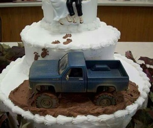 cake, wedding, and country image