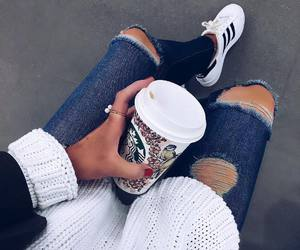 starbucks, style, and coffee image