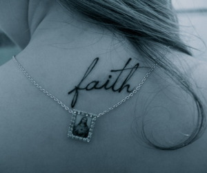 faith, tatto, and tattoo image