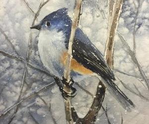drawing and bird image