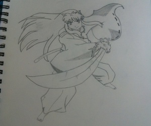 dibujo and inuyasha image