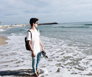 manu rios, boy, and beach image