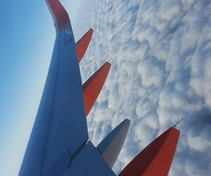 blue, travel, and cloud image