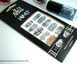 blogger, manicure, and nail art image