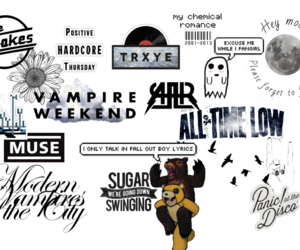 All American Rejects, all time low, and background image