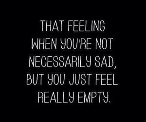 depression, loneliness, and quote image